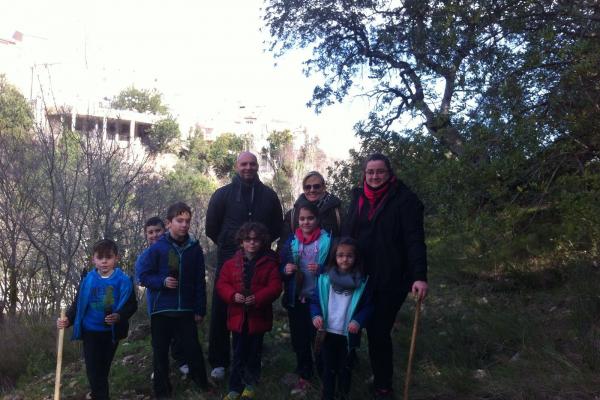 Día del Arbol en Millares